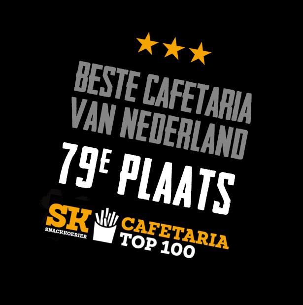 Eetwinkel Sterk Langs de Lijn plaats 79 Cafetaria Top 100
